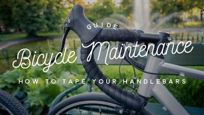 Bicycle maintenance guide: How to tape your handlebars
