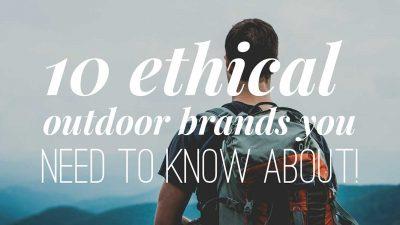 10+ best eco & vegan friendly outdoor brands