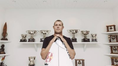 Three-time world surf champion Mick Fanning announces retirement