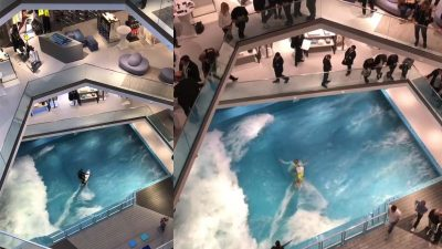 Citywave Osnabrück – Indoor wave pool launches in German shopping mall