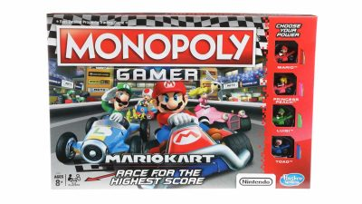 Hasbro releases Mario Kart version of Monopoly board game