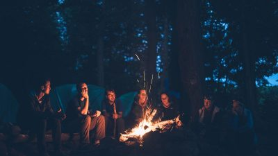 Sleep hacks for camping with noisy friends