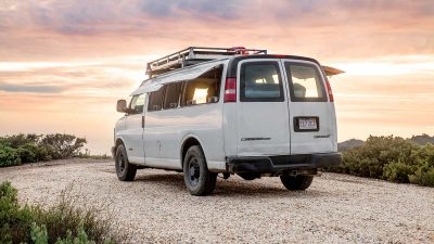 How to convert a van into a mobile home