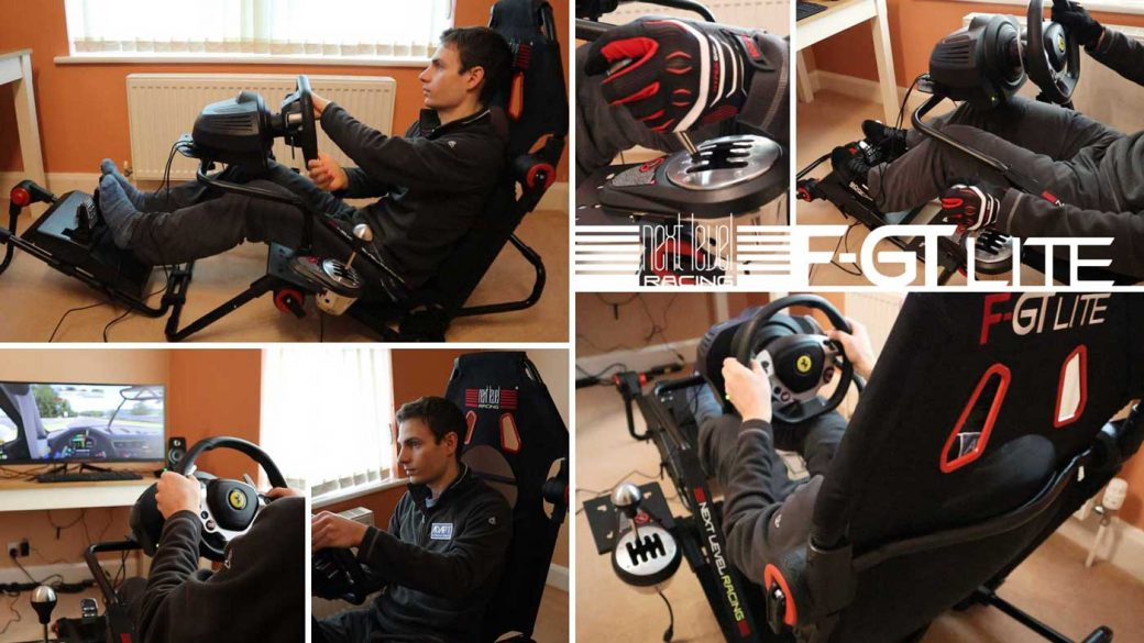 Next Level Racing F-GT Lite foldable cockpit review