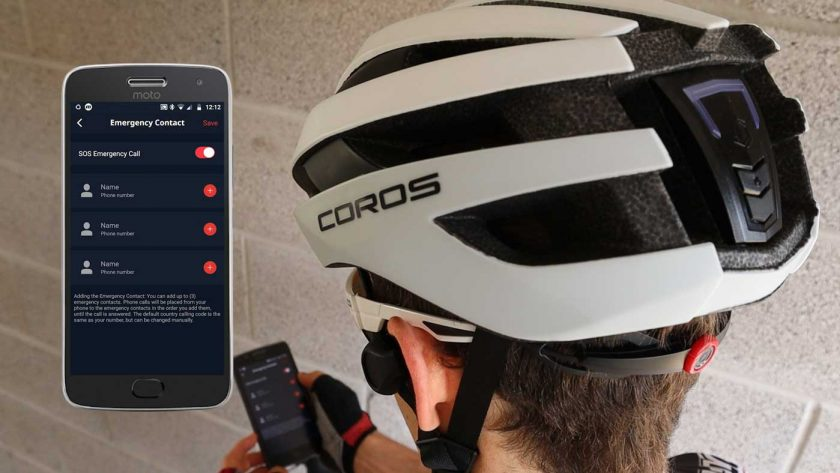 Coros SafeSound app and SOS feature