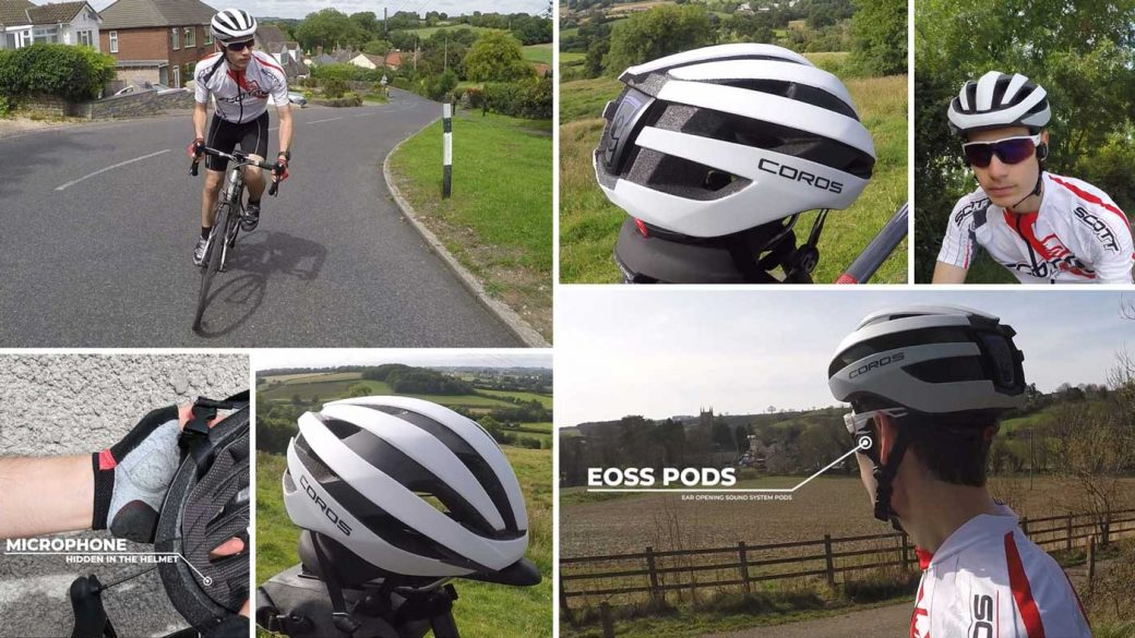 Coros SafeSound Road smart cycling helmet review
