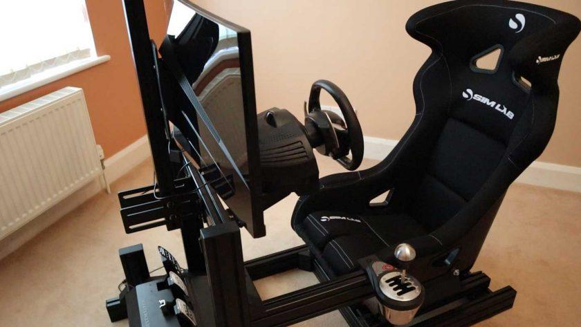 Sim-Lab GT1 Evo cockpit
