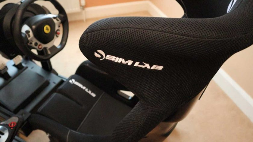 Sim-Lab SPEED 1 sim racing seat material