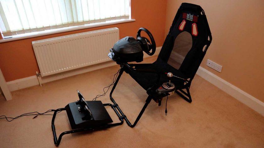 Next Level Racing GT Lite foldable cockpit