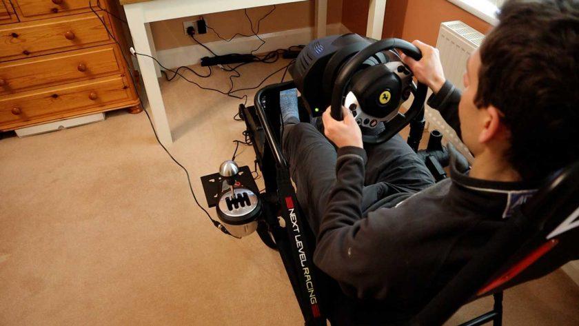Next Level Racing GT Lite wheel mount