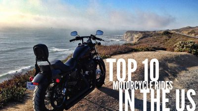 Top 10 motorcycle rides in the US