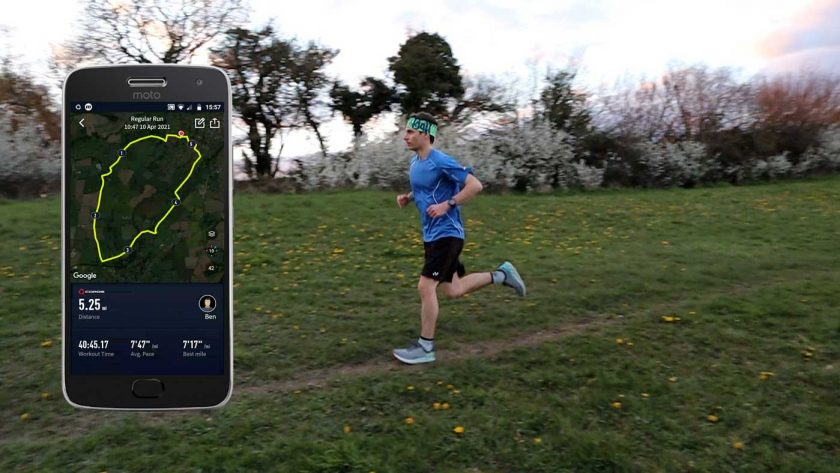 Tracking a run with the Coros Vertix GPS adventure watch
