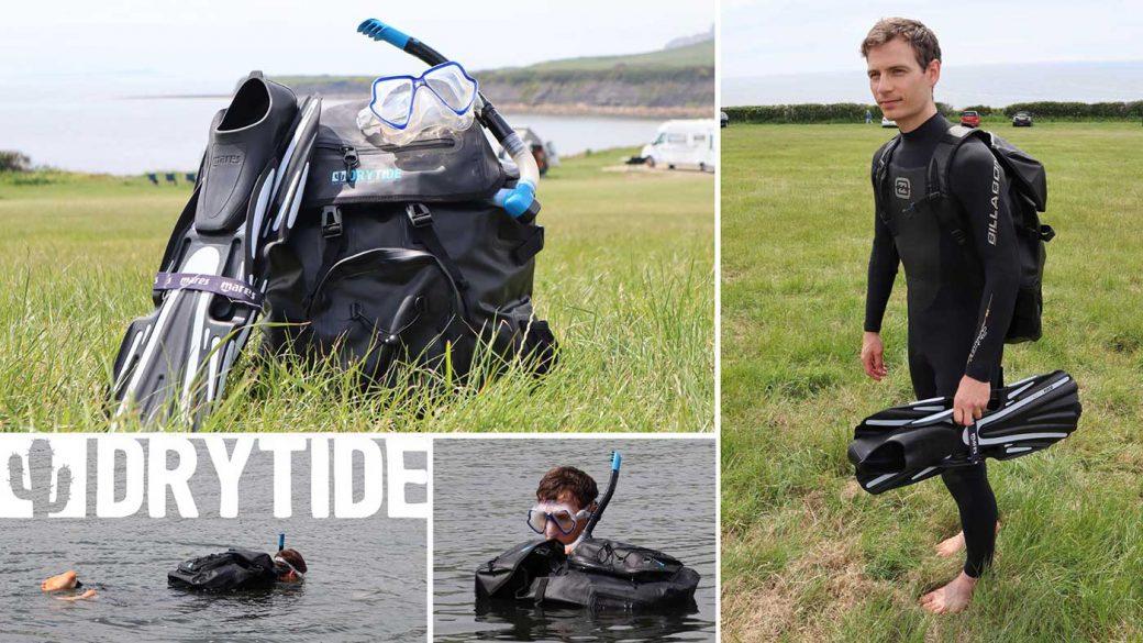 DryTide 50L waterproof backpack review