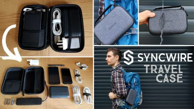 Syncwire travel case tech organiser review