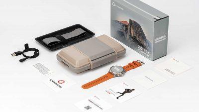 COROS VERTIX 2 and reusable protective case