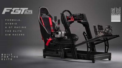 Next Level Racing F-GT Elite aluminium profile cockpit