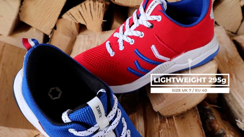 The Relance RL-01 running shoe is quite lightweight at 295g for a size UK 7 / EU 40
